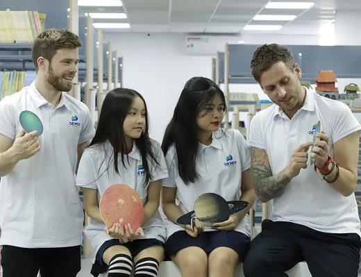 Chương trình học THCS chất lượng nhất Hà Nội tại trường liên cấp song ngữ The Dewey Schools