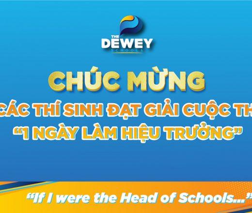 IF I WERE THE HEAD OF SCHOOL: REVELATION OF THE DEWEY SCHOOLS' FUTURE LEADERS